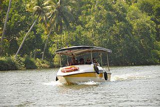 Backwater boating